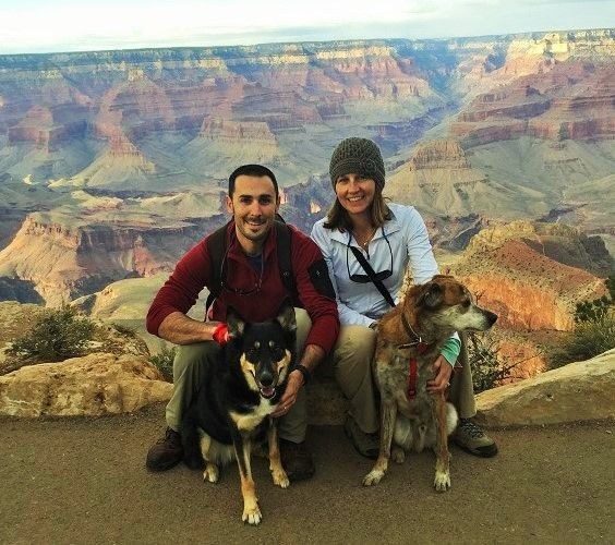 Roadtripping with Two Dogs: A Newbie's Experience - How one couple and their dogs survived their first cross-country road trip.