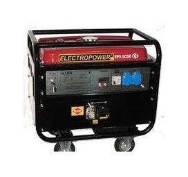 Groupe electrogene essence 230V insonorisé, 5.5Kw avec 9h50 d'autonomie, démarrage électrique