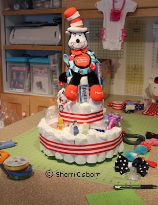 9 Steps to Making a Baby Shower Diaper Cake: Ideas for Decorating Your Diaper Cake
