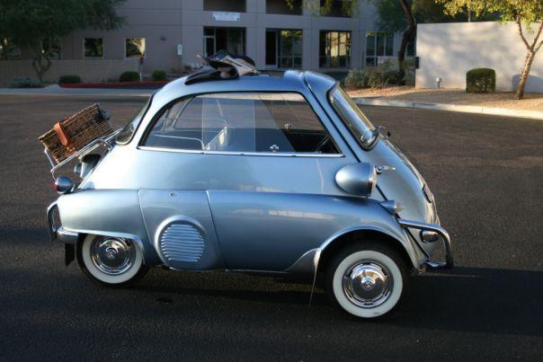 bmw isetta 300 deluxe - 1959