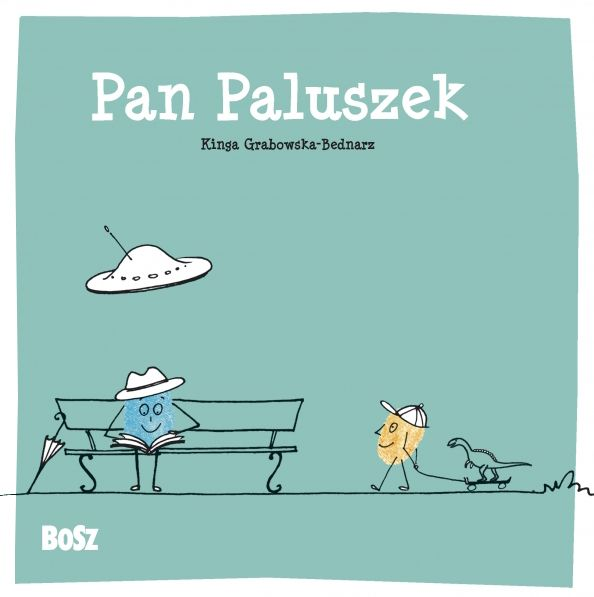 Pan Paluszek #książki dla dzieci #humor  #dzieci #ilustracje #illustration