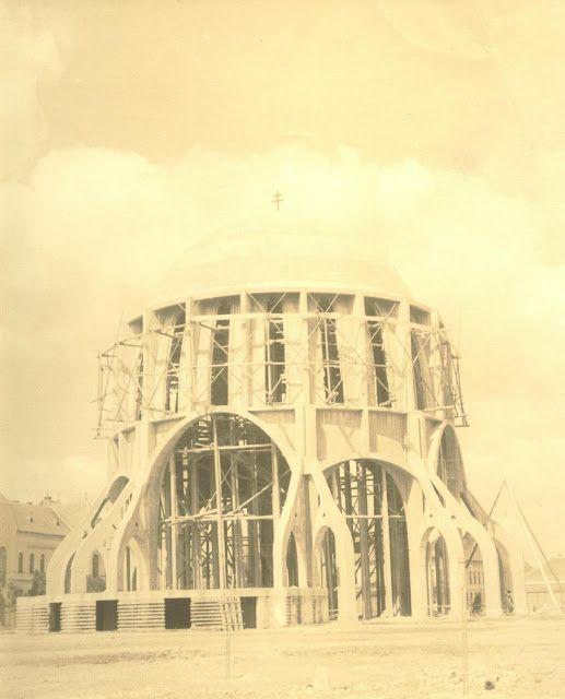 .: A Fogadalmi templom terve és kivitelezése