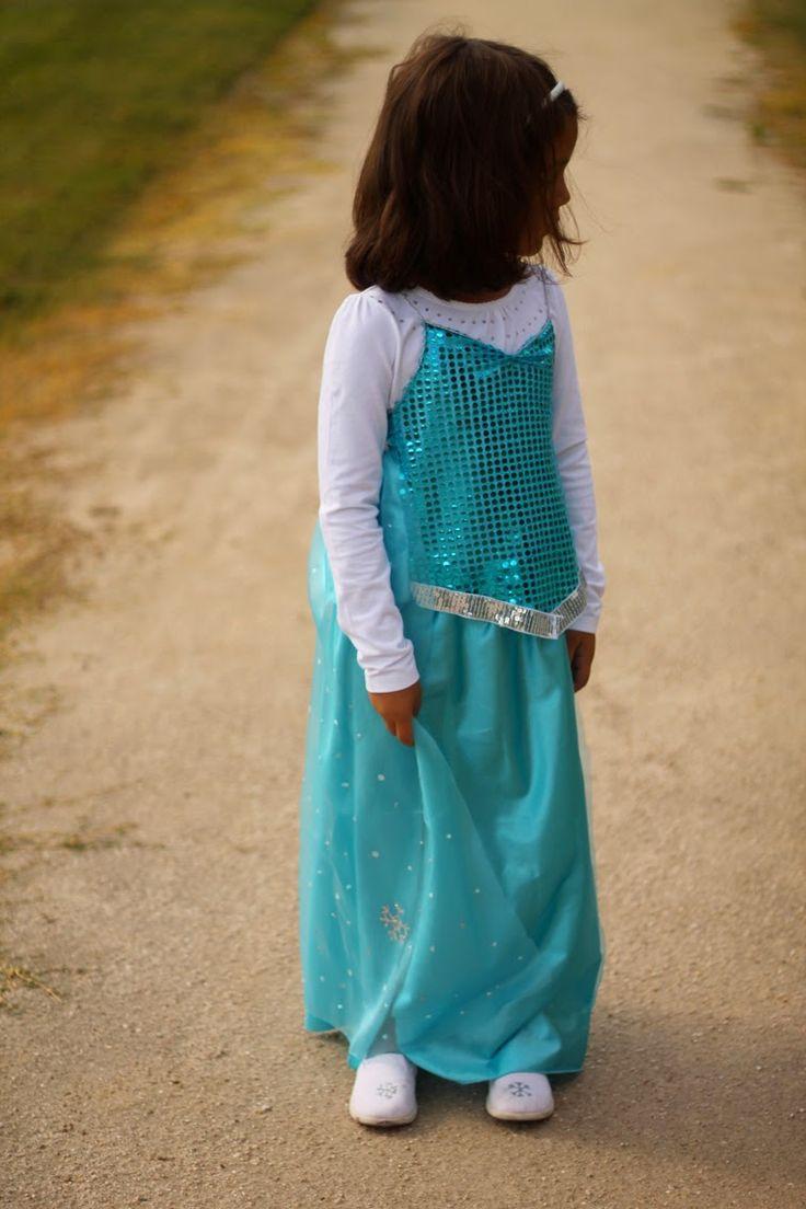 Tutorial Disfraz de Elsa
