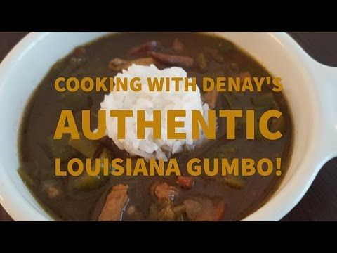 How to make authentic Louisiana Gumbo - YouTube