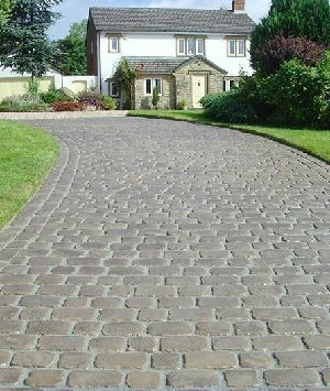 Marshalls Cobbletech Driveway System, Border Driveway System, Midlothian Block Paving Systems, Edinburgh, Glasgow, Dunfermline