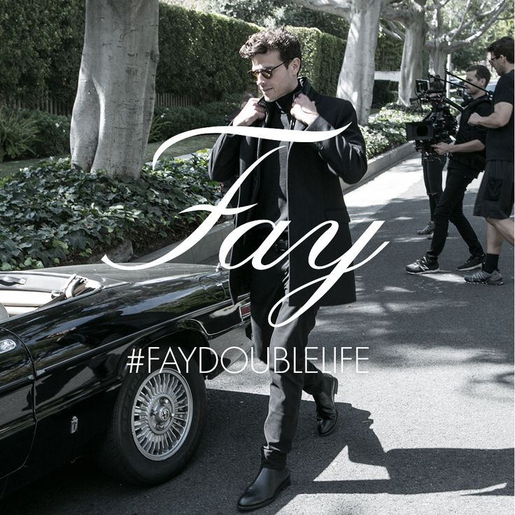 Ivan Olita stars as the director in search of inspiration in the new Fay Double Life campaign.