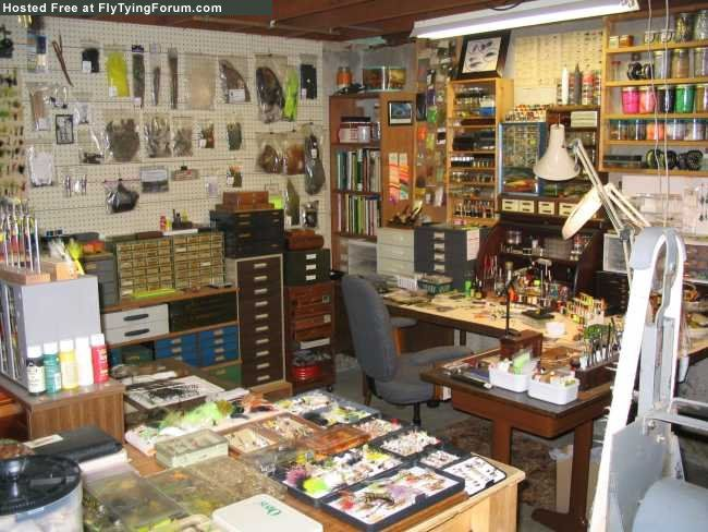 Fly Tying Bench - Dave - The Fly Tying Bench - Fly Tying