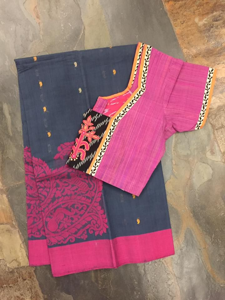 Crisp cotton sarees! Mix and match it with a lovely readymade cotton blouse. Sold separately! Come by the store. What s app no:9108558485 ******************************************