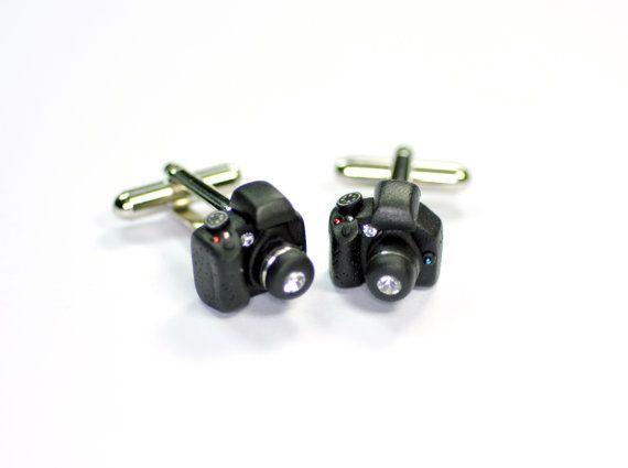 Canon Camera miniature Cufflinks