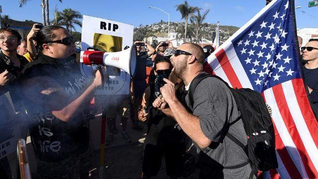 Threats of political violence rise in polarized Trump era