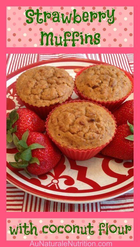 Rise 'N Shine Strawberry-Vanilla Muffins (They're Gluten and Grain-Free! Paleo)