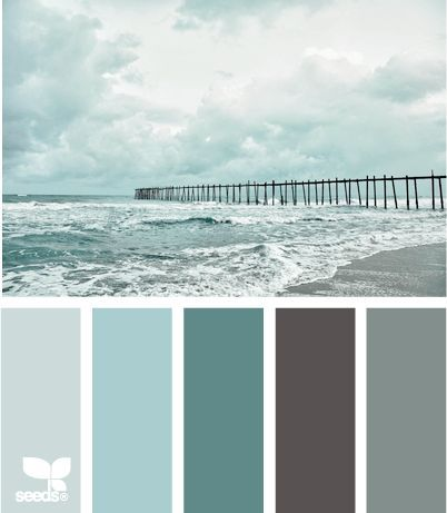 Create Beach Bliss with Color Palettes from the Shore - Ideas from Design Seeds - Beach Bliss Living - Decorating and Lifestyle Blog