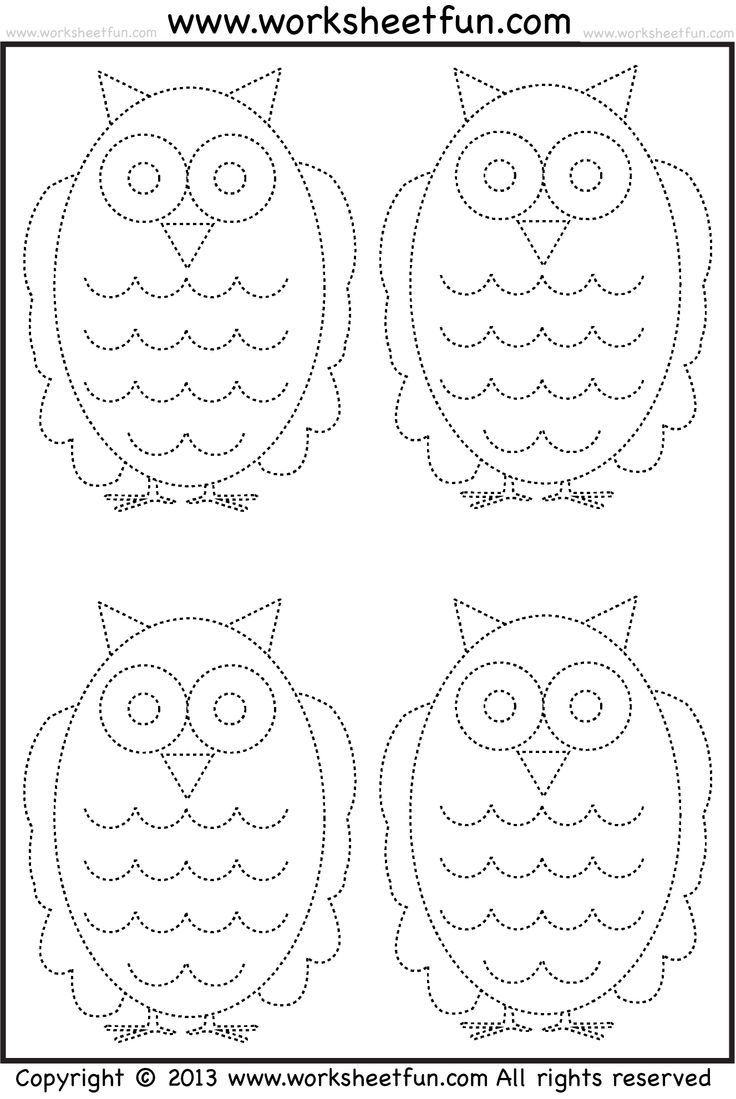 96 best tracing worksheets images on pinterest tracing small owls tracing worksheet robcynllc Images