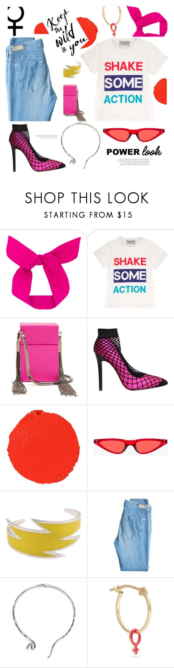 """""""Happy women's day!!"""" by gabrielleleroy ❤ liked on Polyvore featuring Être Cécile, Yves Saint Laurent, Privileged, Hourglass Cosmetics, Dsquared2, AG Adriano Goldschmied, Alison Lou, womensHistoryMonth, pressforprogress and GirlPride"""