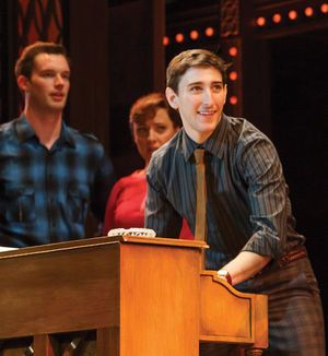"""Ben Fankhauser as 'Barry Mann' in """"Beautiful: The Carole King Musical"""" on tour"""