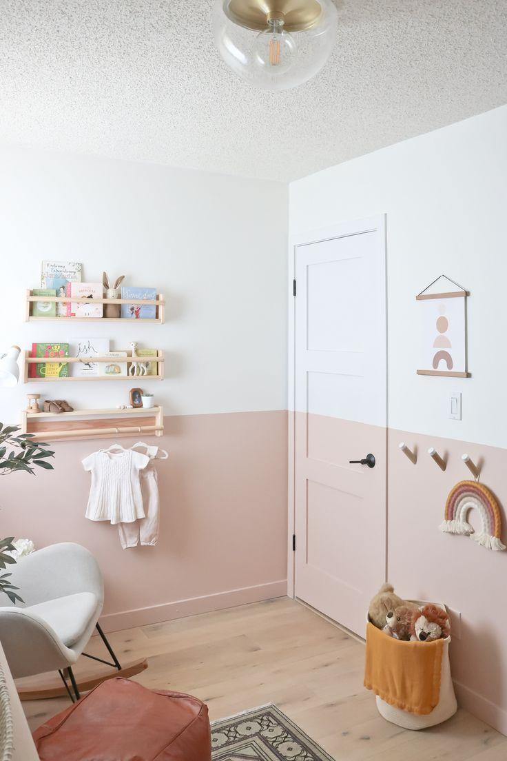 The Nursery Reveal – Das neue Zimmer von Baby Girl E   – H u i s j e  – K i n d e r k a m e r