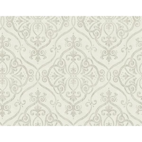 York Wallcoverings Damask Strippable Non Woven Paper Unpasted Classic Wallpaper Lowe S Canada Geo Wallpaper Classic Wallpaper Embossed Wallpaper