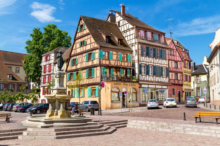 Wine Village of Colmar, France puzzle in Street View jigsaw puzzles on TheJigsawPuzzles.com. Play full screen, enjoy Puzzle of the Day and thousands more.