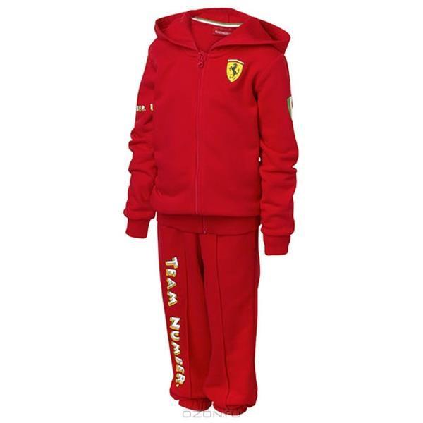 Красные спортивные детские костюмы фото