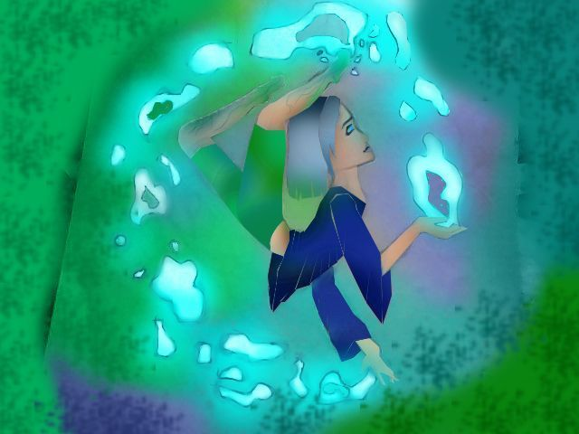 Water goddess, this took me too long compared to the other, but hey, WHAT CAN YOU DO?