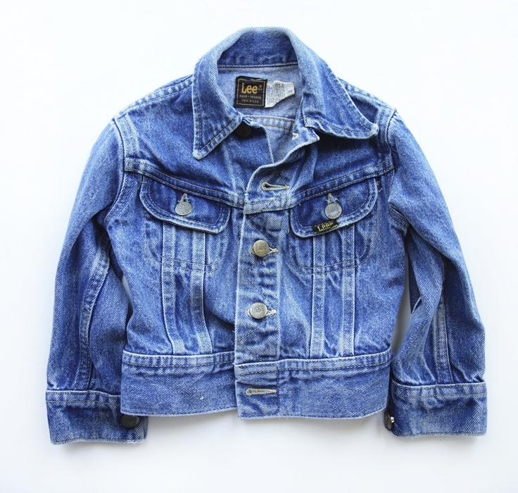 Super Cool Vintage Lee Jean Jacket Toddler Size 4 | little h