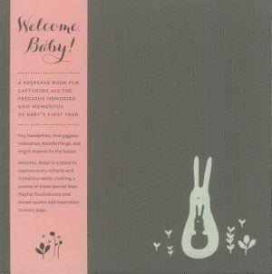Welcome Baby Keepsake Book - Girl