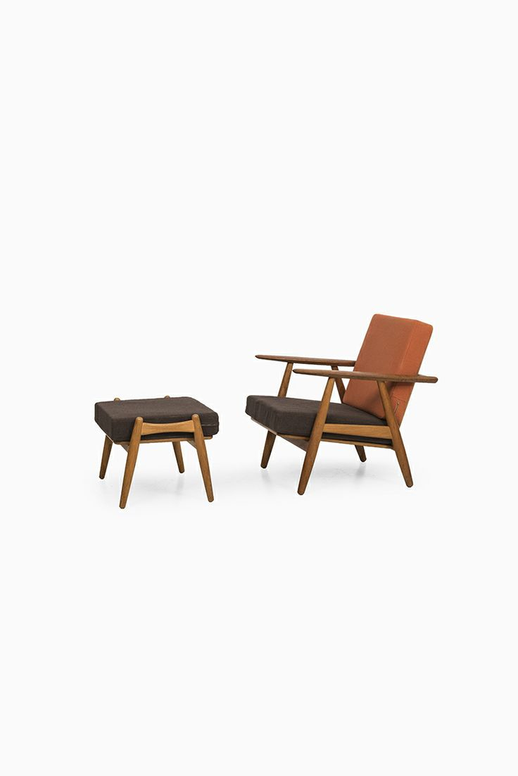 Hans Wegner cigar easy chair with stool at Studio Schalling  sc 1 st  Pinterest & 132 best Chair with Stool images on Pinterest | Lounge chairs ... islam-shia.org