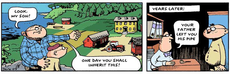 FINGERPPORI IN ENGLISH! Finland's famous comic strip