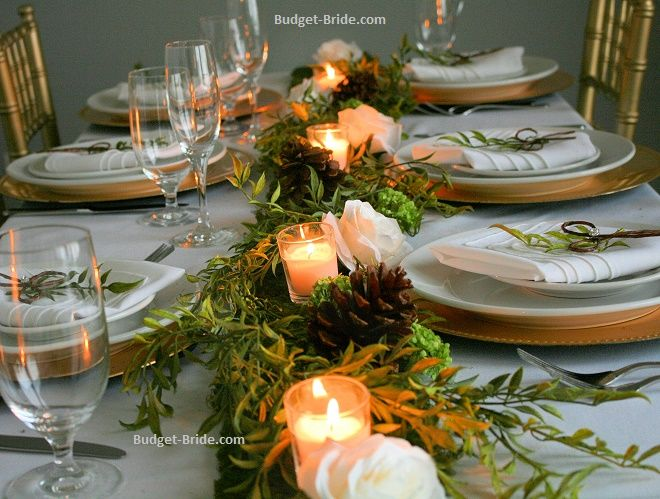 How To Decorate With Your Head Table Cheap And Inexpensive Cheap DIY Wedding  Decorating