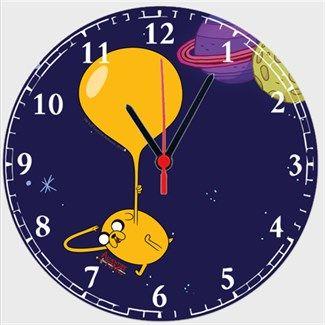 Adventure Time - Balon Jake Kendin Tasarla - Duvar Saati 27cm
