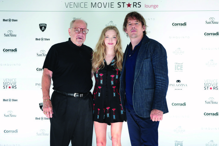 """Venice Movie Star Lounge hosts """"First Reformed"""" during the 74th Venice Film Festival on August 31, 2017 in Venice, Italy. Regia di Paul Schrader, with Ethan Hawke, Amanda Seyfried, Cedric the Entertainer, Michael Gaston, Mahaleia Gray."""