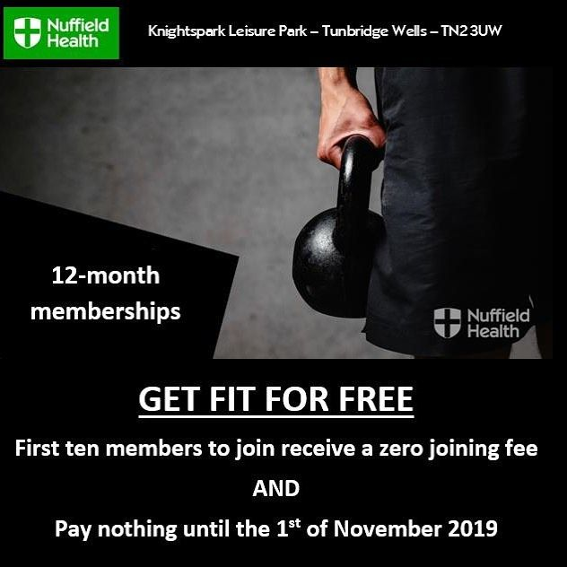 Get Fit For Free Tunbridge Wells Kent Getfit Fit Fitness