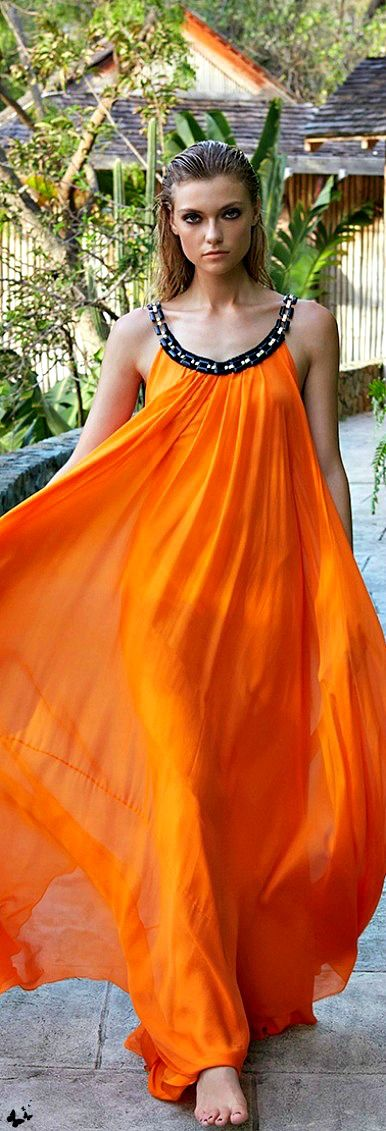 Orange waves!