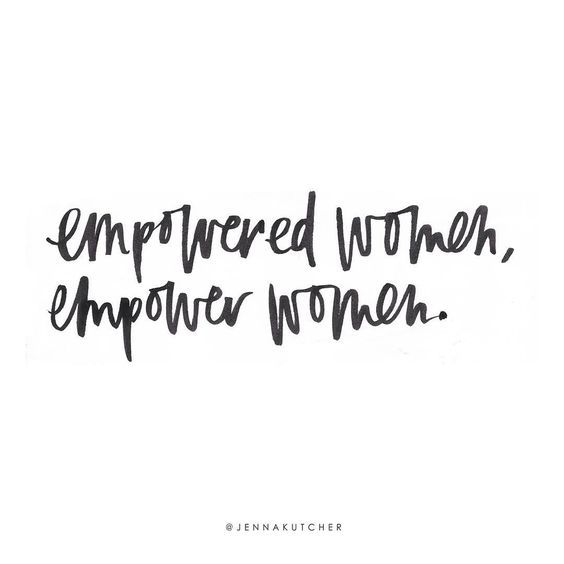 Empowered women, empower women. #quote #quotes #inspiration: