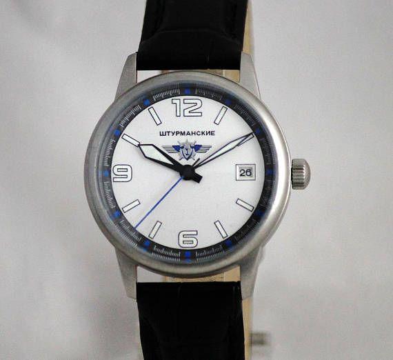 Etsy shop. SHTURMANSKIE Poljot Rare Vintage Military watch from USSR . NEW