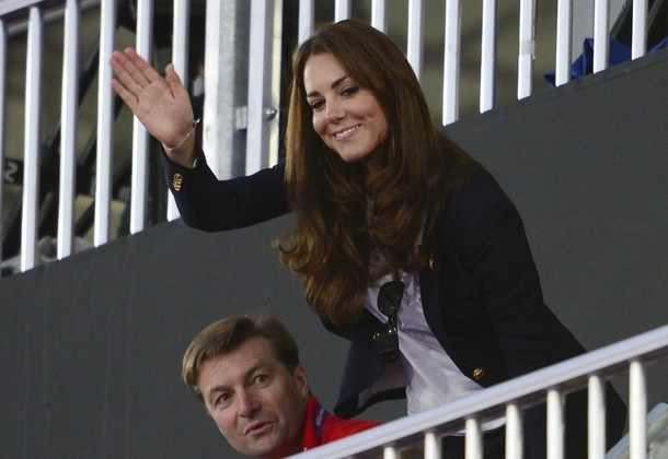 The Duchess of Cambridge watched the Team GB vs. Argentina women's field hockey game.