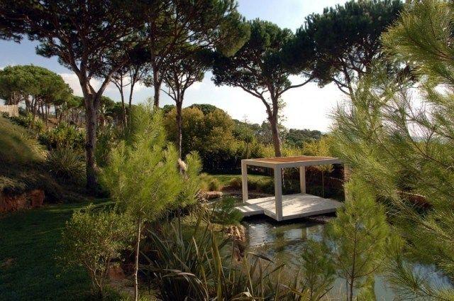 Jardin paysager contemporain design par Francis Landscapes  Paysages ...