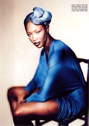 Elettric Blue, Vogue Italia, June 2001