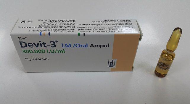 Devit 3 Ampul Nedir Nasil Kullanilir Ampul Vitaminler Vitamin