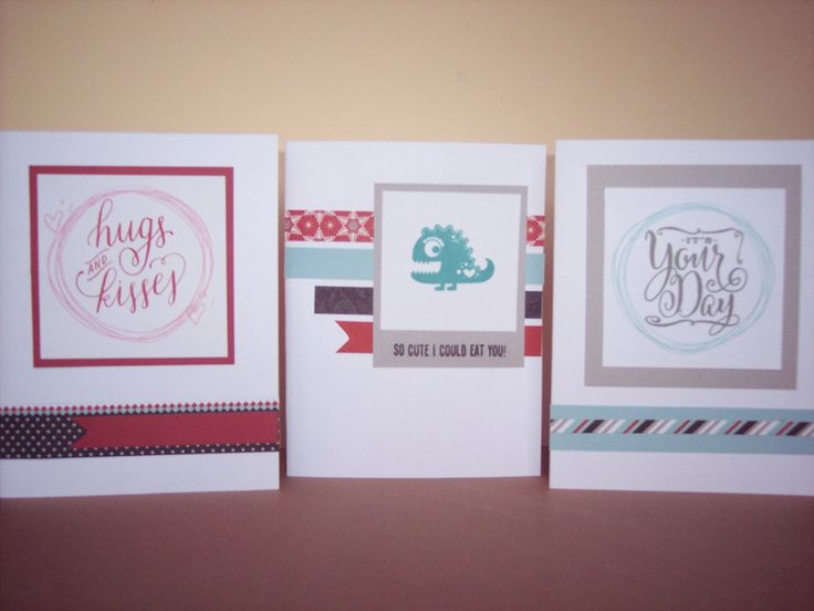 Card Making Ideas Close To My Heart Part - 49: Cards Made Using Doodled Designs And Love Ya Silly Stamp Sets From Close To My  Heart