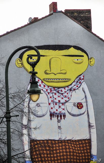 Berlin Street Art by Os Gemeos