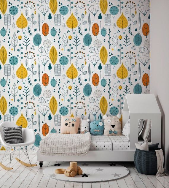 Removable Wallpaper Peel And Stick Wallpaper Wall Paper Wall Etsy Removable Wallpaper Peel And Stick Wallpaper Wall Wallpaper