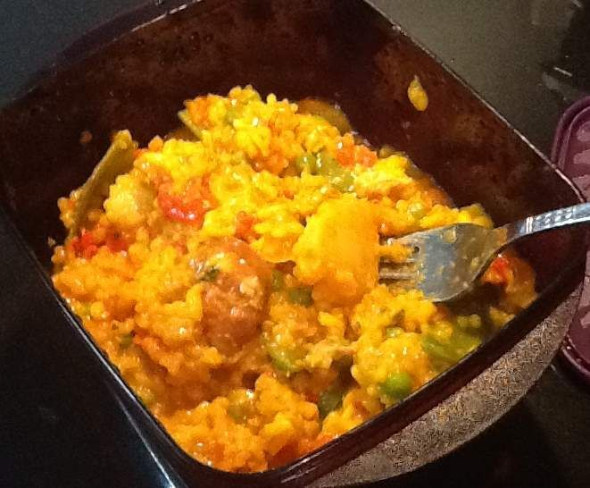 Recipe Clone of Seafood Paella Risotto by The Rob Fam - Recipe of category Pasta & rice dishes