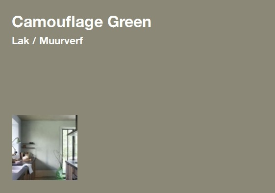 Flexa Camouflage Green