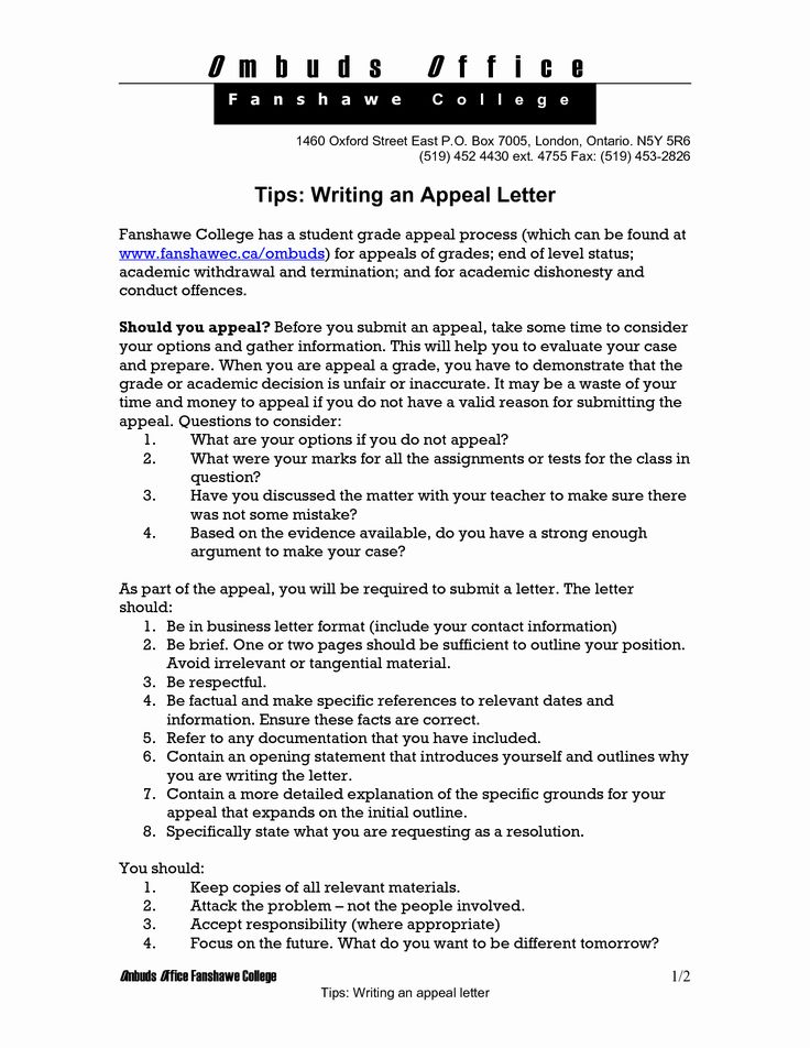 College Appeal Letter Example New Best S Of Examples