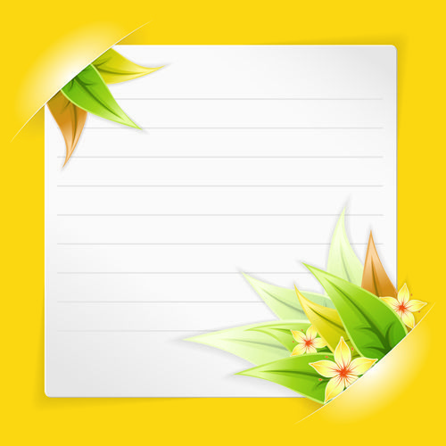 http://freedesignfile.com/28042-white-blank-paper-design-vector-04/