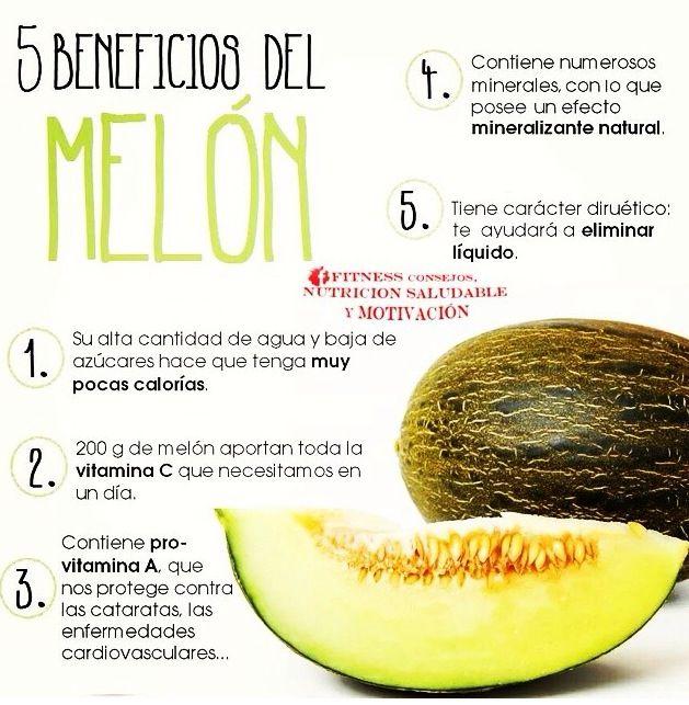 5 Beneficios del Melón #mktnutricional #fruta #salud