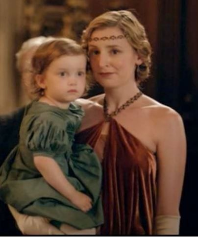 Downton Abbey ~ Edith and Marigold...
