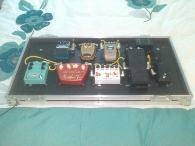 Pedal board (from a couple of years ago)