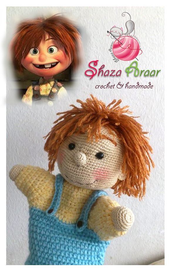 Ellie #up#doll crochet  >> my work <3